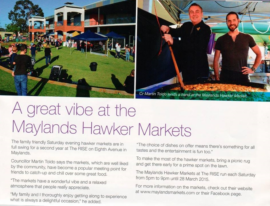 Maylands Markets - Bayswater Brief