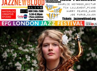 #jazznewbloodALIVE2019 Line-up: Asha Parkinson