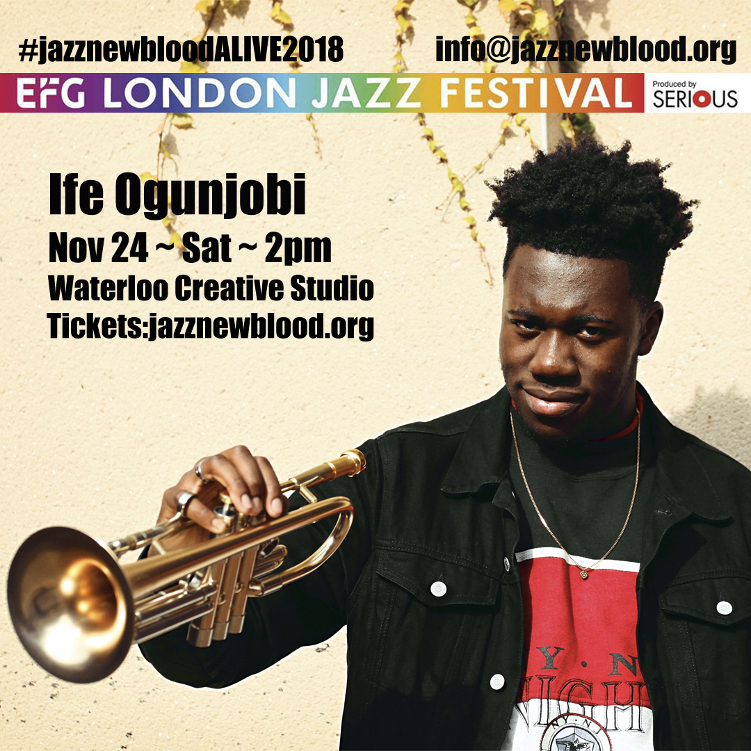24 NOV - 2pm - Ife Ogunjobi band