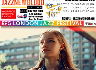 #jazznewbloodALIVE2019 Line-up: Emma Rawicz