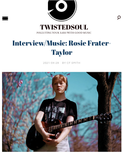 Press interview Rosie Frater-Taylor