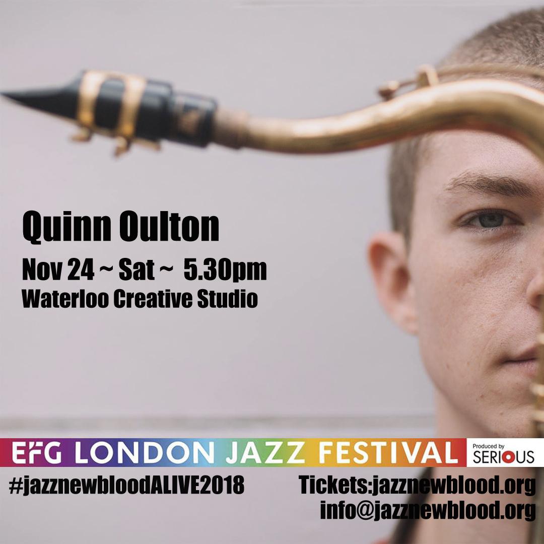 24 NOV - 5.30PM Quinn Oulton band