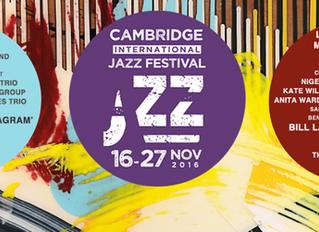 #Cesca & #Zeñel @CambridgeJazzFestival in collaboration with #jazznewblood