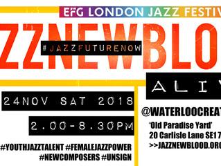 jazznewblood @EFGLondonJazzFestival 2018