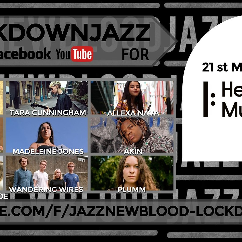 Jazznewblood fundraiser #lockdownjazz for HELP MUSICIANS