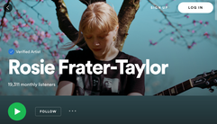 Rosie Frater-Taylor spotify