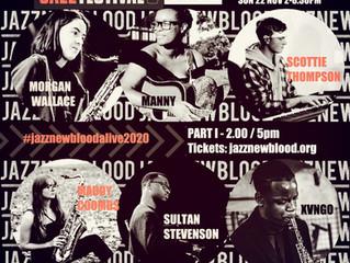 #jazznewbloodALIVE2020 @EFGLondonJazzfest @artisblackheath / @stevefunkyfeet