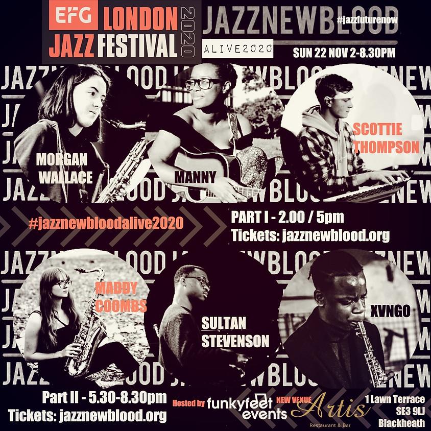 #jazznewbloodALIVE2020 PART I