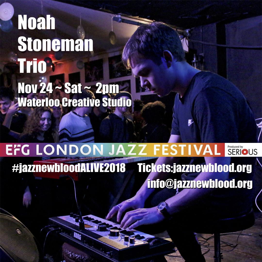 24 NOV - 2pm - Noah Stoneman Trio