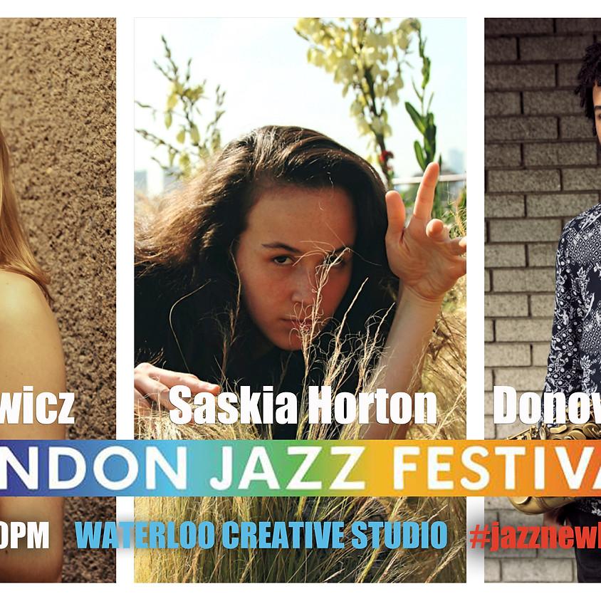 #jazznewbloodALIVE2019 PART I @EFGLondonJazzFest @WaterlooCreativeStudio