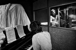 #SamBarnett NY-LON studio session
