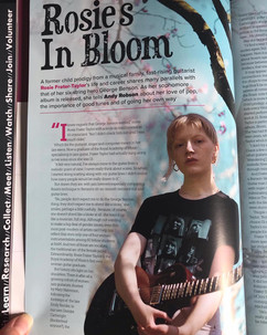 Jazzwise feature with Rosie Frater-Taylor