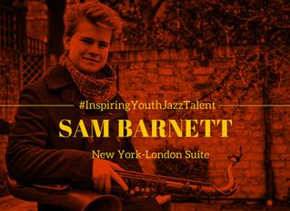INTERVIEW: Sam Barnett debut cd                           NEW YORK-LONDON SUITE