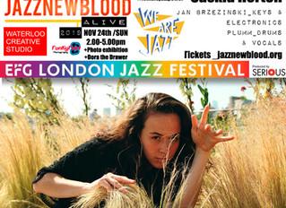 #jazznewbloodALIVE2019 Line-up: Saskia Horton