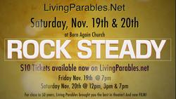 RockSteady Ticket Flyer