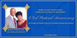 43rd Pastoral Anniversary