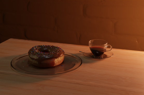 Donut and Coffee (2021)