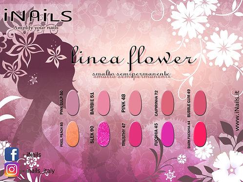 Linea Flower semipermanenti iNails