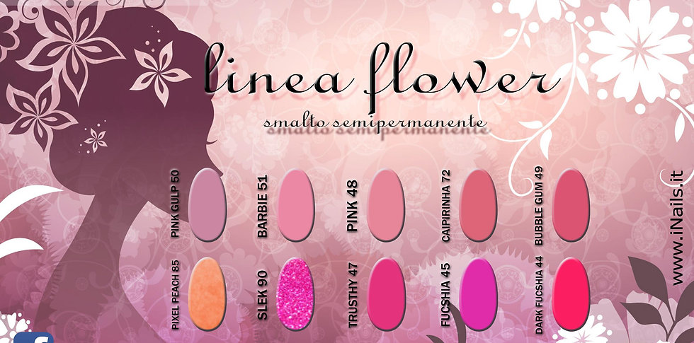 Linea Flower semipermanenti iNails