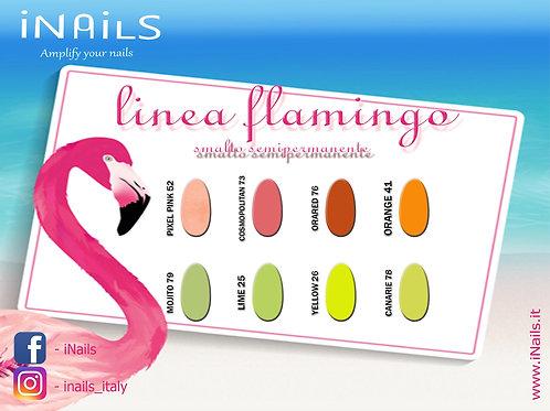 Linea Flamingo semipermanenti iNails