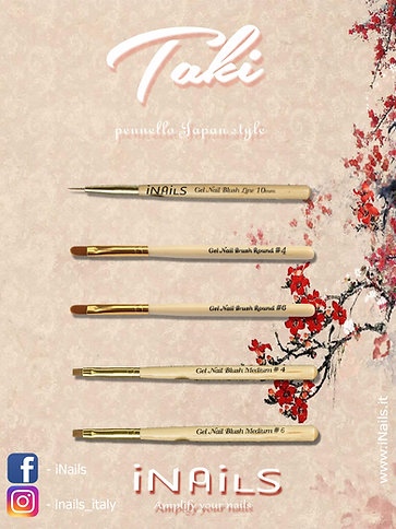 Pennelli in legno Japan style taki