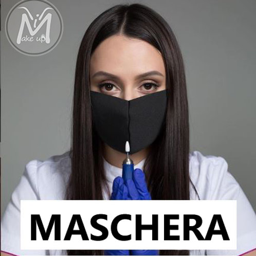 MASCHERINA ANTIPOLVERE BLACK