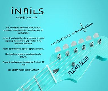 Flexo Blue gel monofasico iNails