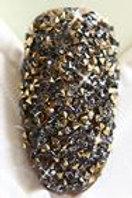 Cristal pix black gold