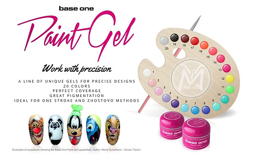 GEL PAINT NAIL ART SILCARE