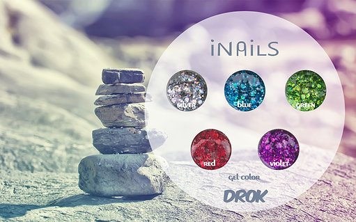 Drok gel color iNails