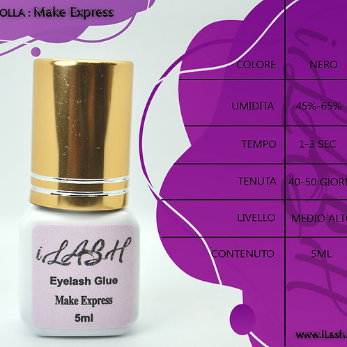 Colla extension ciglia Make Express iLash
