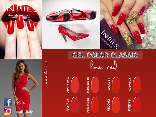 Gel color classic linea red