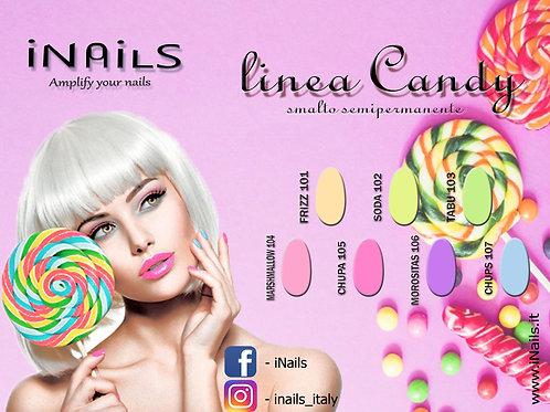 Linea Candy smalto semipermanente iNails