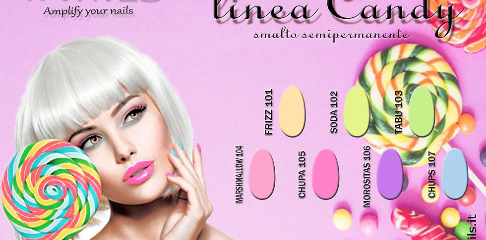 Linea Candy smalto semipermanente iNails