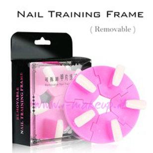 Nail training frame