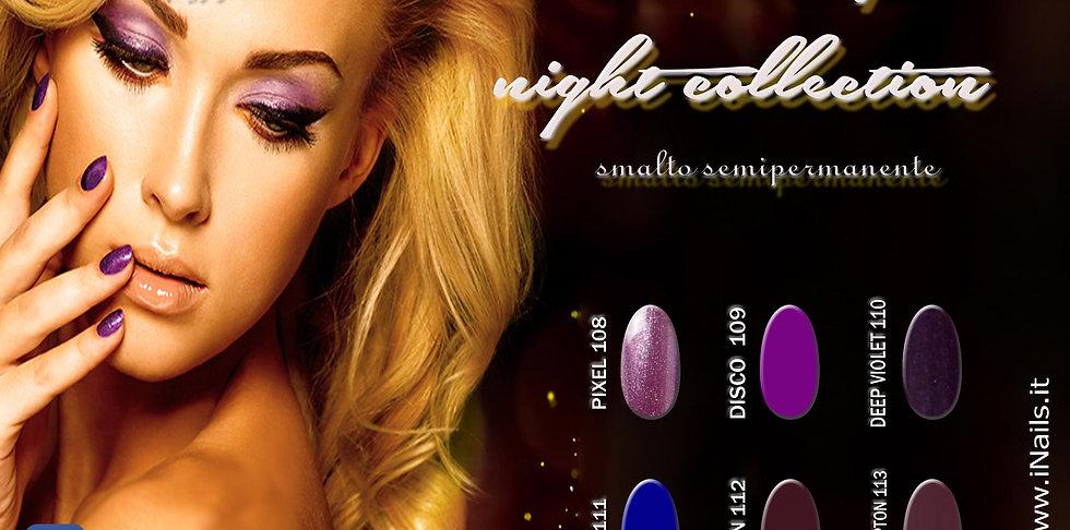 Linea Saturday night collection semipermanente iNails