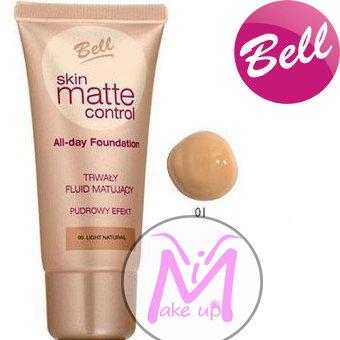 FONDOTINTA skin matte control BELL