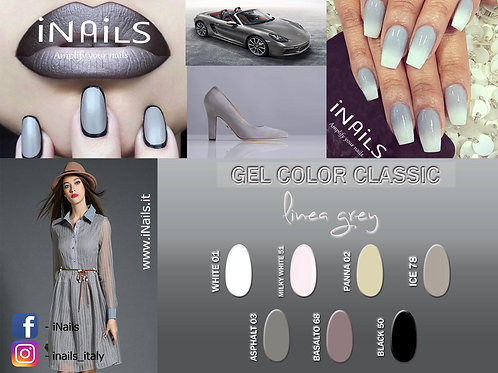 Gel color classic linea Grey