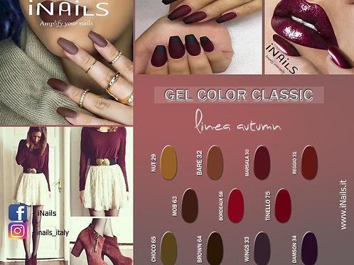 Gel color classic linea Autumn