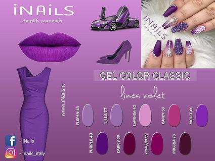 Gel color classic linea Violet