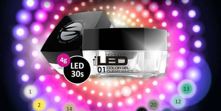 GEL COLOR HIGH LIGHT LED