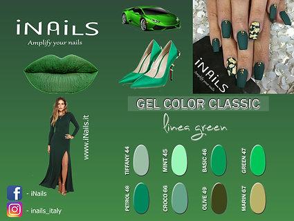 Gel color classic linea Green