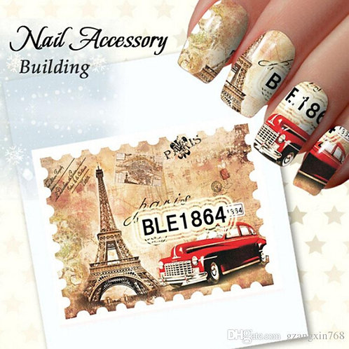 Water Decals ble 1864
