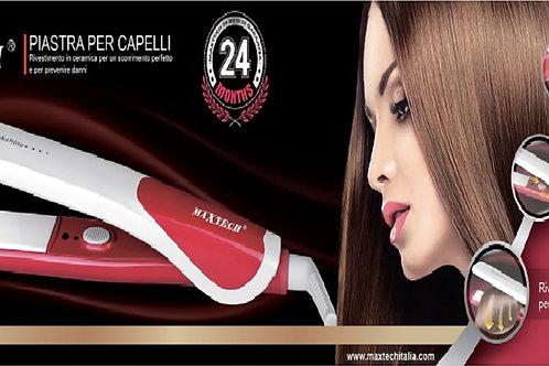 Piastra per capelli in ceramica MaxTech PI-CA002