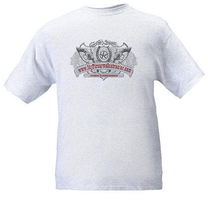 Mens MFI Revolver Logo shirt