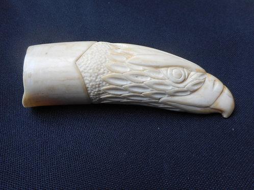 No.355 - Carved scrimshaw - American eagle