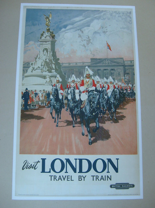 London - BR advertising poster