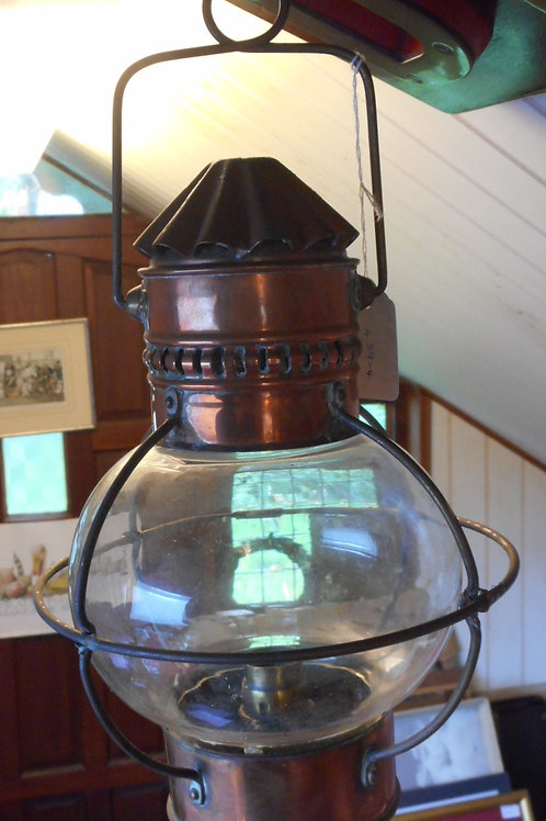 Early globe cabin light