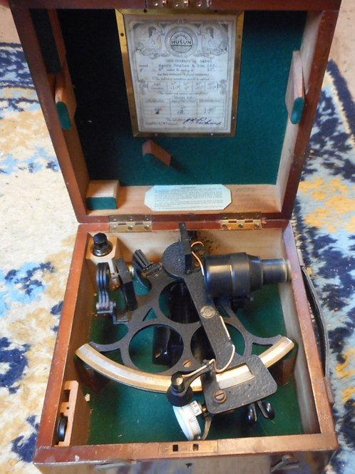 Henry Hughes & son Husun sextant