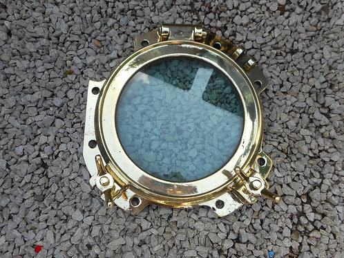Large brass porthole